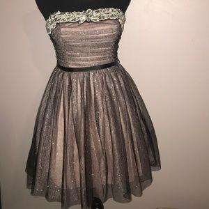Prom or Formal strapless  Dress Jr Sz 7